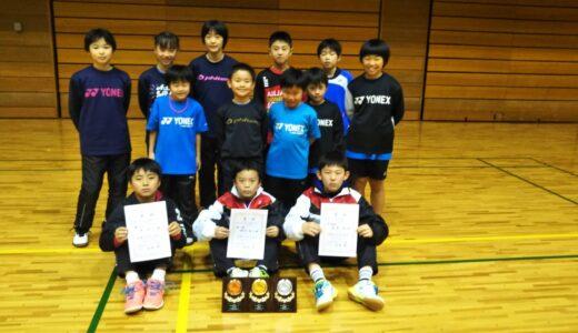東京都シングルス大会5~6年生